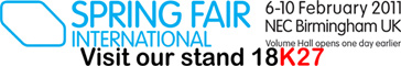 Visit SilverAmber.co.uk at Spring Fair !